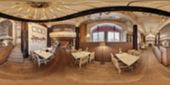 Restaurace rozostření pozadí — Stock fotografie
