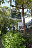 Whitehall Inn in Camden, Maine — Stock Photo