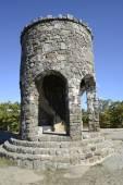 Observation tower at Mount Battie in Camden Maine — Stock Photo