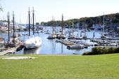Camden Harbor in Maine — Stock Photo