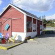 Small lobster shack in coastal Maine — Stock Photo #59621823