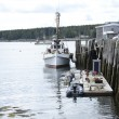 Boats docked in Port Clyde, Maine — Stock Photo #63927351