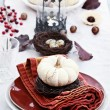 Autumn Table Setting — Stock Photo #53866967