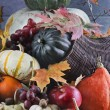 Vintage Cornucopia or Horn of Plenty — Stock Photo #57735083
