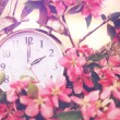 Springtime Daylight Savings Time — Stockfoto #65432819