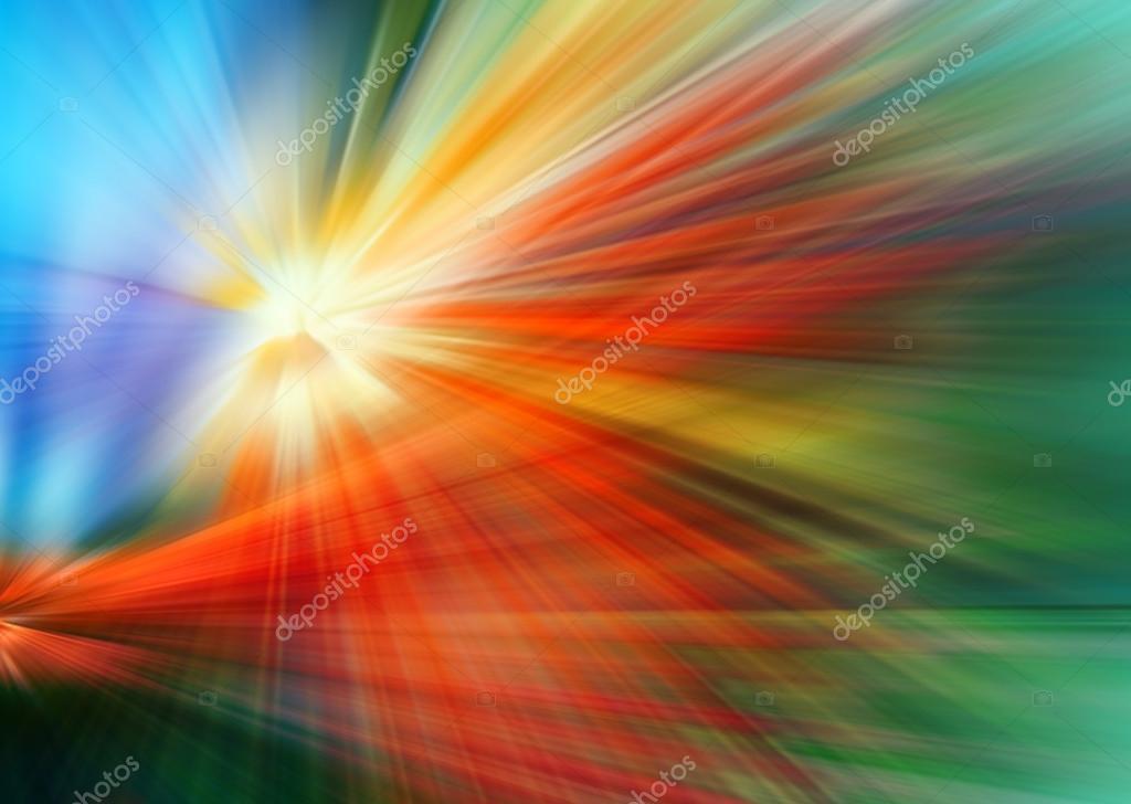 Fondo Abstracto De Color Azul, Rojo, Verde, Amarillo Y