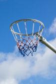 Netball Hoop — Stock Photo