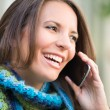 Beautiful Woman on Phone — Stock Photo #78467492