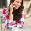 Woman Talkin on Phone — Stock Photo #78908702