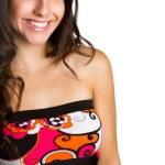 Beautiful Smiling Young Woman — Stock Photo #82175526