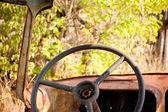 Abandoned car interior — Foto de Stock