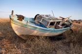 Vieux bateau de pêche — Photo
