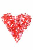 Assorted valentines candy heart — Foto Stock