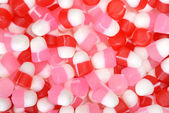 Valentines chewy candy — Stock Photo