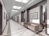 Corridoio interno — Foto Stock