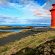 Lighthouse in town — Stock Photo #51957895