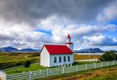 Islandský kostel — Stock fotografie