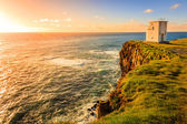 Lighthouse on Latrabjarg cliffs — ストック写真