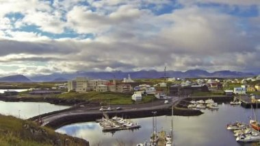 Stykkisholmur harbor — Wideo stockowe