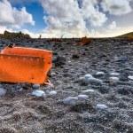 Shipwreck on beach — Stock Photo #57165647