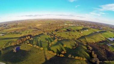 Central kentucky countryside — Stock Video
