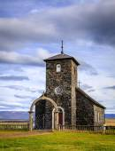 An old stone church — Stock Photo