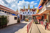Border crossing between Thailand and Cambodia — Stock Photo