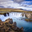Godafoss waterfall in Iceland — Stock Photo #62647945
