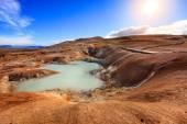 Krafla volcanic field — Stock Photo