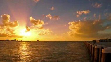 Key West sunset — Vídeo de stock