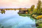 Lake Myvatn in Northern Iceland — Stock Photo