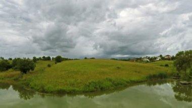 Tempestade sobre a zona rural de Kentucky — Vídeo stock