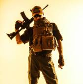 Private military contractor PMC — Stock Photo