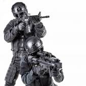 Spec ops police officer SWAT — Stock Photo