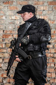 Special forces operator — Stock Photo