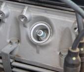 Engine - spark plugs — Stock Photo