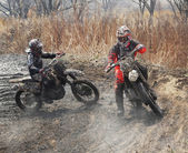 Off-road riders — Stock Photo