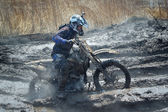 Off-road rider — Stock Photo