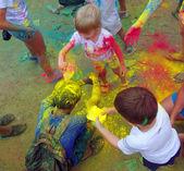 Color Fest September 2014 in Nakhodka. — Stock Photo