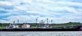 Oil tanker — Stock Photo