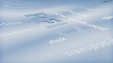 RFID - Symbol — Stock Video