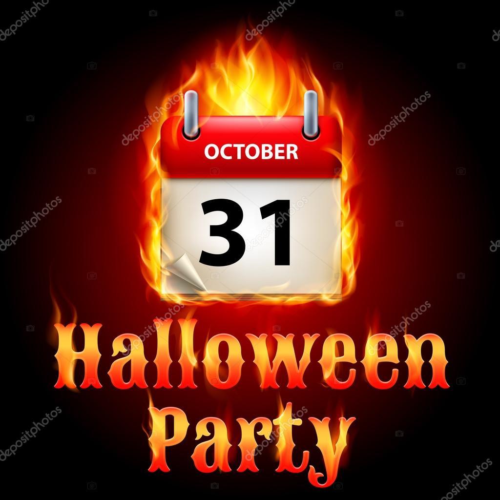 Cadılar Bayramı partisi davetiyesi tasarımı ile 31 Ekim tarihinde ...