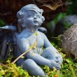 Angel in garden — Stock Photo #53390199