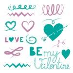Happy Valentines — Vecteur #61298355