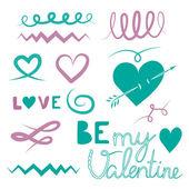 Happy Valentines — Stock Vector