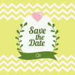 Save The Date card — Stock Vector #66970979