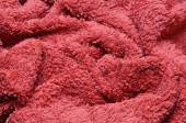 Fresh red  towel — Stockfoto