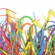 Colorful electrical cables — Stock Photo #54345157
