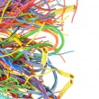 Colorful electrical cables — Stock Photo #54345381