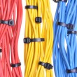 Colorful electrical cables — Stock Photo #57825105